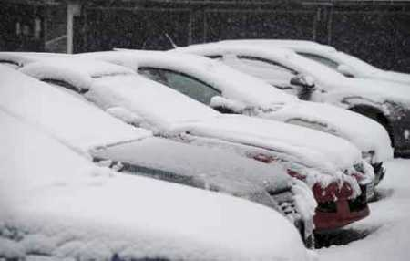 Heavy snowfall was projected on a Saturday morning in southern Finland