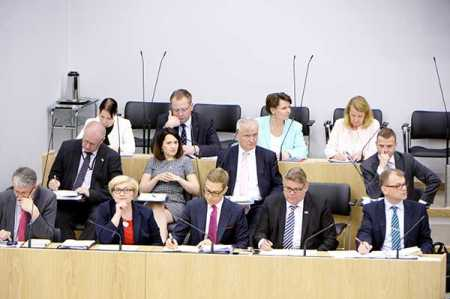 Many ministers yet to disclose campaign funding