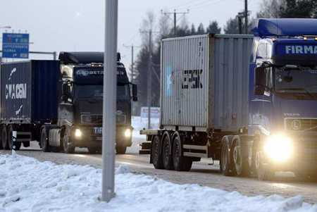 Changes proposed in Finland-Russia goods transport