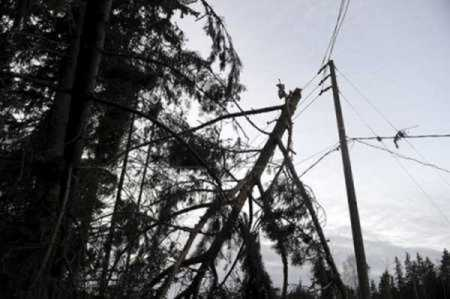 Rauli causes massive power outage